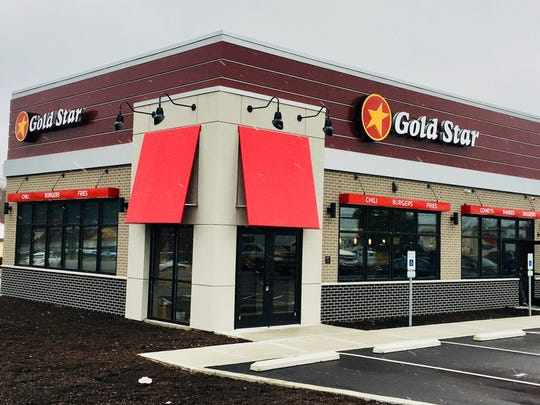 The look of Gold Star's newly branded restaurant design.
