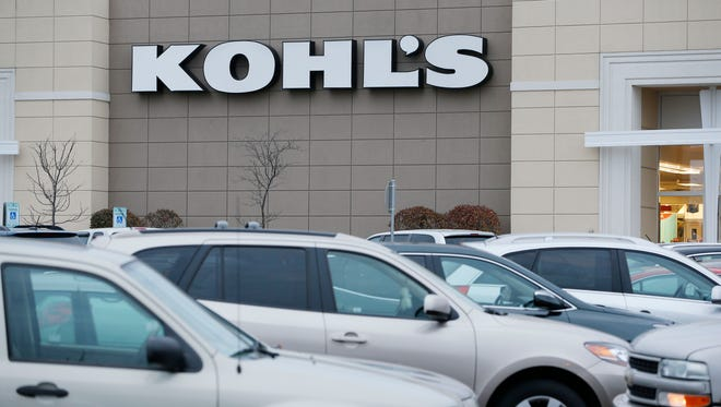 The Kohl's department store parking lot in Menomonee Falls was busy with shoppers on Black Friday.