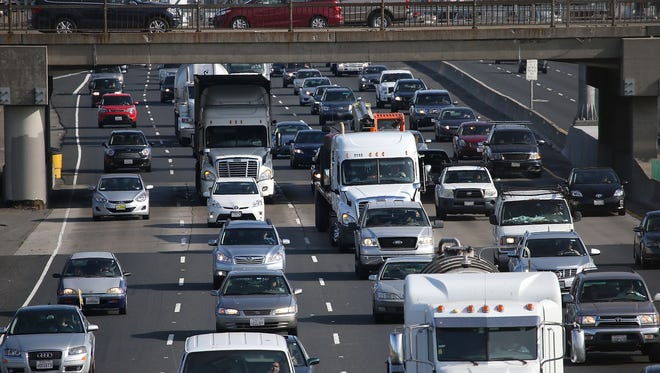 Traffic on July 1, 2015 in San Francisco, California.