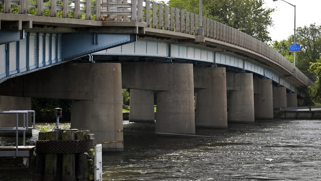 The Racine Street bridge in Menasha is scheduled to be reconstructed in 2020.