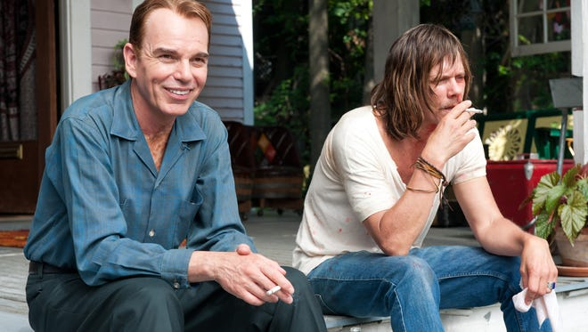 Billy Bob Thornton,left, and Kevin Bacon star as brothers in the new drama 'Jayne Mansfield's Car.'