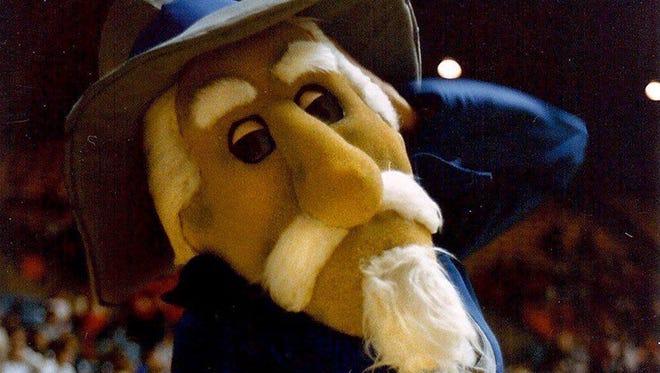 Former Ole Miss mascot Colonel Reb