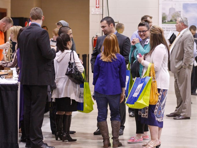 The annual Show Biz trade show at the AmeriCraft Center, at the Oregon State Fairgrounds, on Thursday, May 8, 2014.