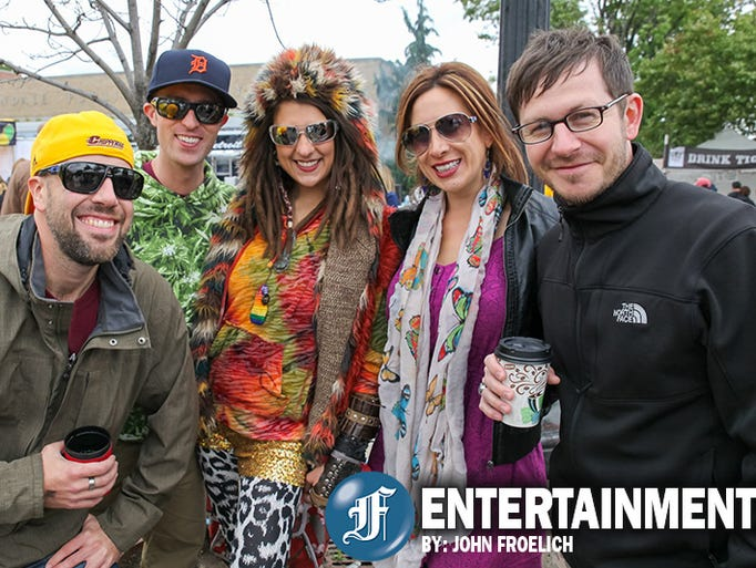 A unseasonably cold weekend did not stop fans of the DIY lifestyle from enjoying all the good things that could be found at the DIY Street Fair and Funky Ferndale Art Fair in Ferndale, MI on September 13, 2014. The annual event saw an eclectic mix of 140 local artists and artisans display their items of creative expression. A full line up of local bands, live entertainment and lots of craft beer and festival food ensured a good time for all.