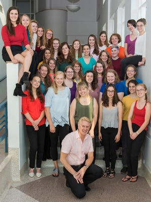 For the third time in eight years, Lawrence University's women's choir, Cantala, will be a featured performer at an American Choral Directors Association's conference.