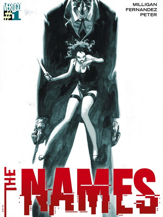 The Names cover