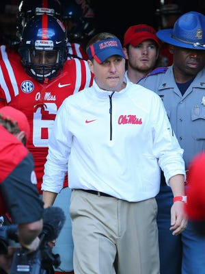 Hugh Freeze has been Mississippi's head coach since 2012, going 34-18 with four bowl berths. Freeze will be in Jackson on July 23.