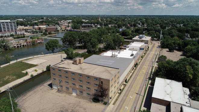 Menasha is working to redevelop its former Banta building.