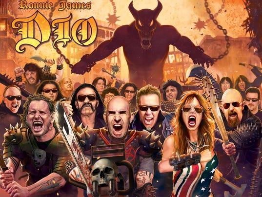 Ronnie James Dio tribute album cover Art