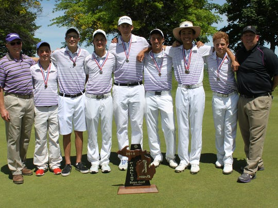 The Lakeview golf team finished second at the Division I MHSAA Golf Finals
