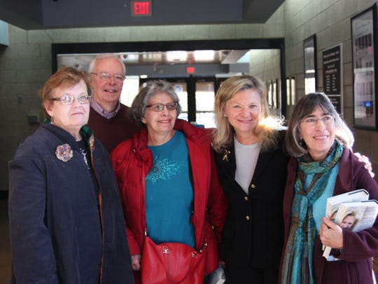 Lisa Scottoline with some of the Friends of the Bridgewater