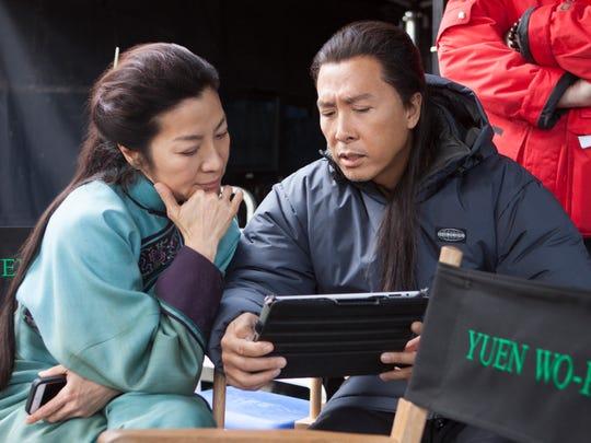 Michelle Yeoh and Donnie Yen in 'Crouching Tiger, Hidden