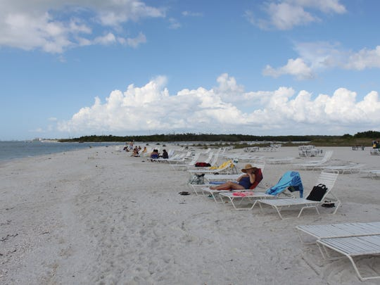 Pelican Landing Beach Park on an exclusive barrier island in Estero Bay is at the heart of a complaint against WCI by Pelican Landing residents filed Monday.
