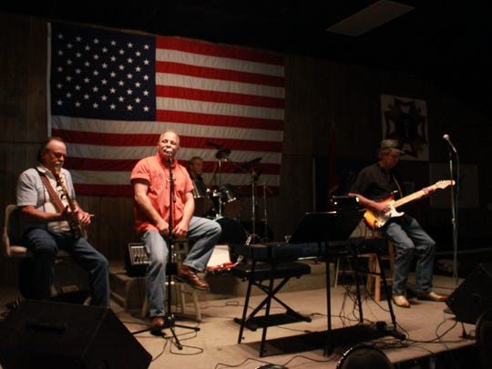 Wolf River plays Sunday at the Veterans of Foreign Wars Post 6496. An event was held to honor all veterans, especially Tony Higgins and Chris Richardson.