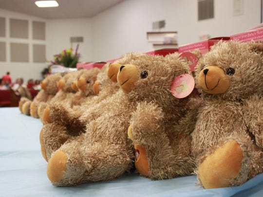 Members of East Union Baptist Church donated 20 'My Baby's Heartbeat Bears' to Heaven's Cradle.