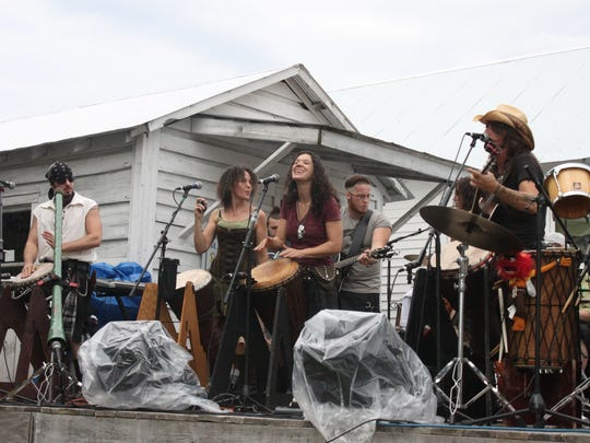 Celtic rock band Tuatha Dea headlines the annual Celtic Fest Sunday at the West Tennessee Delta Heritage Center in Brownsville.
