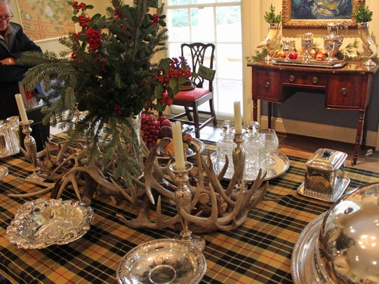Deer antlers are often used as decorative pieces in homes and hunting camps.