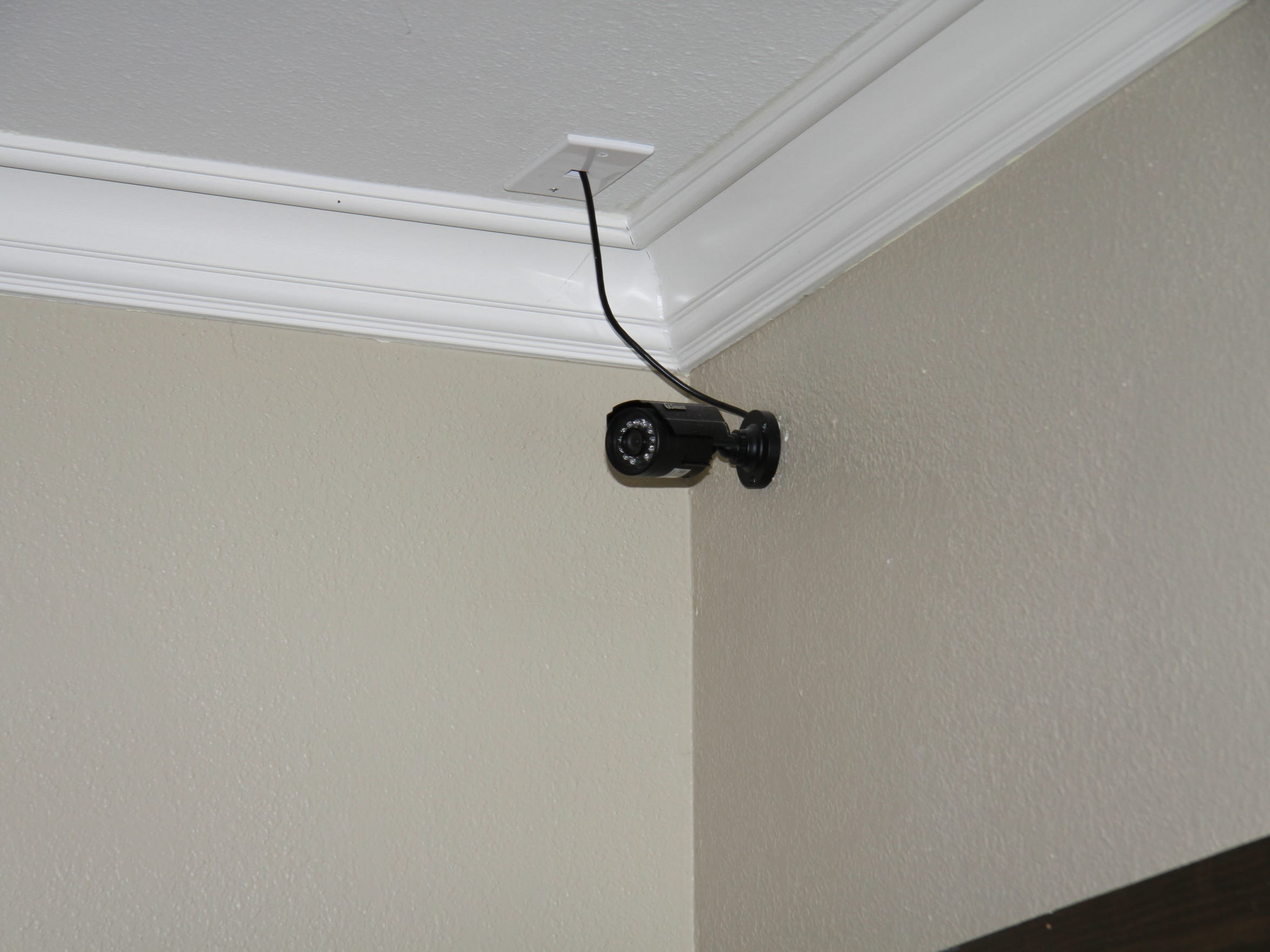 A camera found in the home of Rebekah Mellon and her