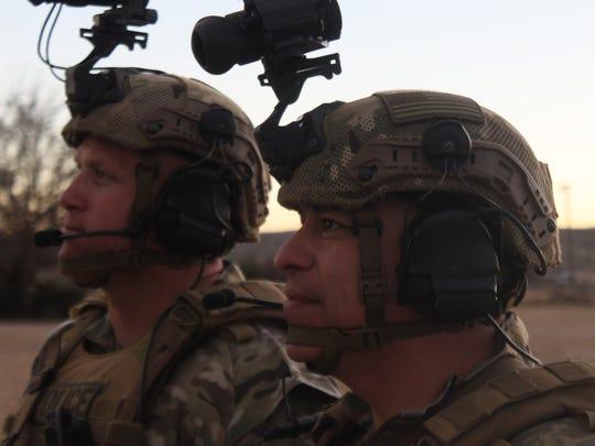 Two Carlsbad SWAT team officers