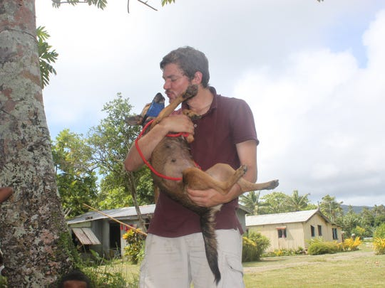 Ryan Boyko traveled all over the world to give DNA tests to village dogs.