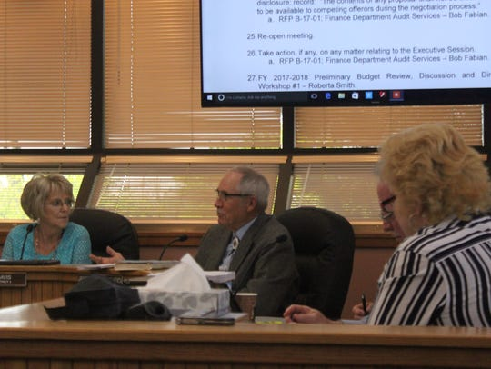 Eddy County Commissioners discuss Eddy County business.