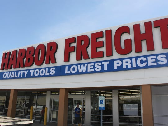 Construction of a Harbor Freight Tool store nears completion