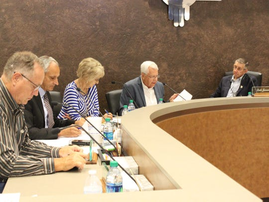 The Carlsbad Brine Well Advisory Authority meets to