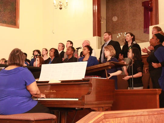 Members of three Jackson churches worship together