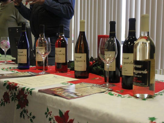Hundreds of attendees sample New Mexican wines and