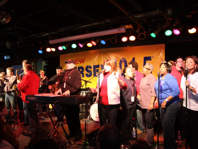 Holiday Express performs at Jenkinson's in Point Pleasant