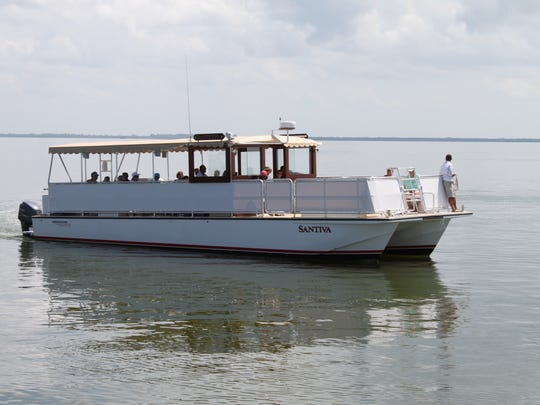 The Randell Research Center and Captiva Cruises have partnered to offer four, 90-minute boat tours from Pineland aboard the Santiva through March.