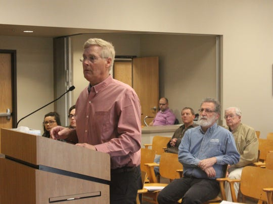 Don Purvis, member of the Carlsbad Brine Well Remediation