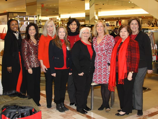 """Trinitas Regional Medical Center in Elizabeth partnered with Lord & Taylor on Feb. 2 to present """"Going Red for Women."""""""