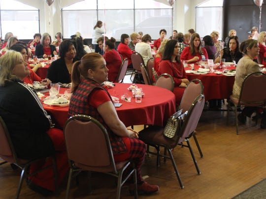 Carlsbad women learn about cardiovascular health during a talk hosted by the Carlsbad Medical Center, Feb. 28, 2018 at the Pecos River Village Conference Center.