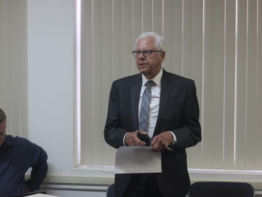 John Heaton, chair of the Carlsbad Mayor's Nuclear