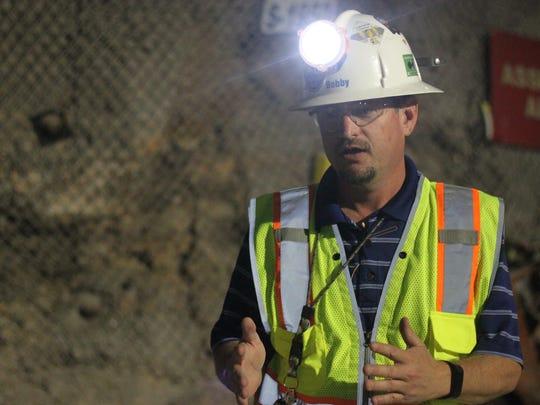 Bobby St. John of Nuclear Waste Partnership explains