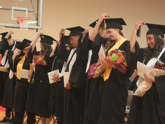 Jefferson Montessori Academy graduates are honored