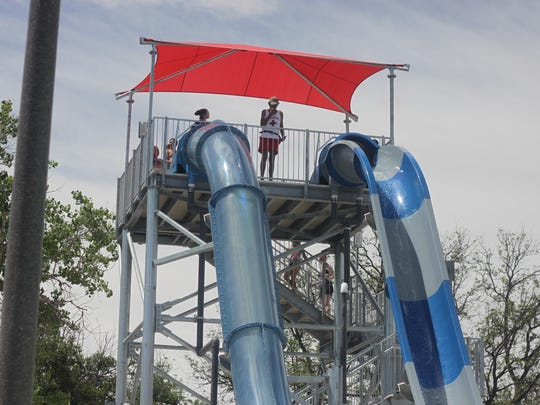 Visiting a water park is one of the best ways to avoid the summer heat.