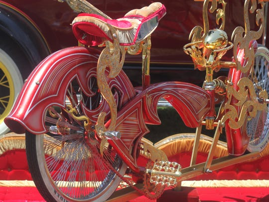 Hundreds of classic cars, motorcycles and tractors are on display at the annual Car A Fair car show, June 2, 2018 at Lake Carlsbad Beach Park.