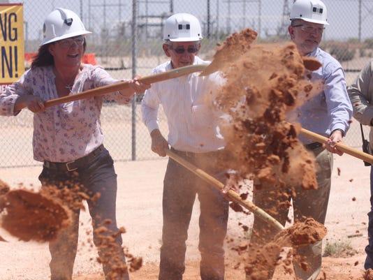 WIPP groundbreaking