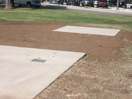 Slabs of concrete will be used to stage Potash Park,