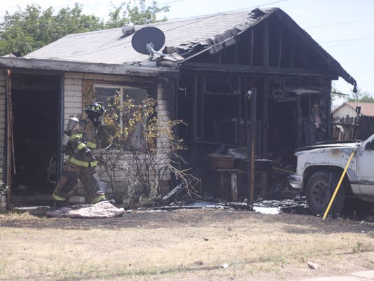 West Texas house fire