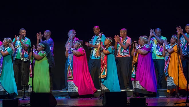 The Soweto Gospel Choir plans to perform Tuesday, Nov. 3, at the Des Moines Civic Center.