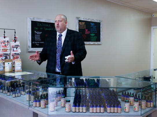 Chad Christianson, co-owner of CBD of Sringfield, talks