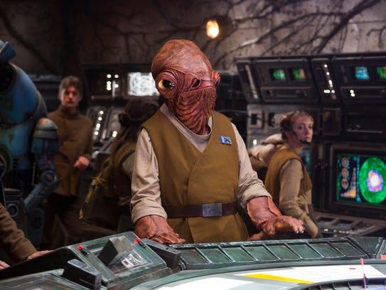 "A Rebel Alliance leader in ""Return of the Jedi,"" Admiral"