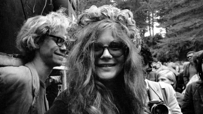 """Janis Joplin, seen in a 1970 photo, is the subject of """"Janis: Little Girl Blue."""""""