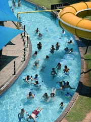 Nellie's Rolling River gives waterpark patrons a relaxed