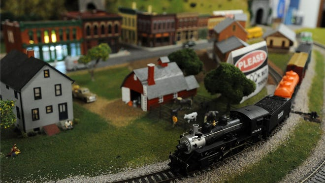 A model train display comes to a close this weekend at the Hayes Library and Museums.