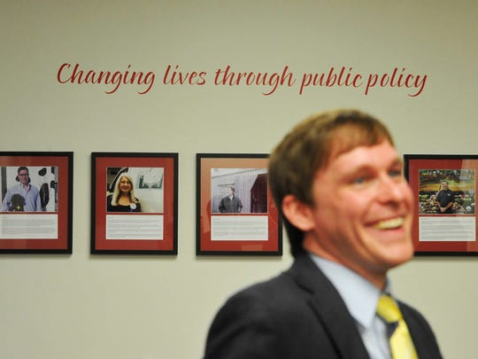 Justin Owen, President and CEO of the Beacon Center