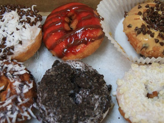 Patrons can special order a variety of gourmet donuts at DOCO, the Donut and Coffee Company, in Farmingdale.